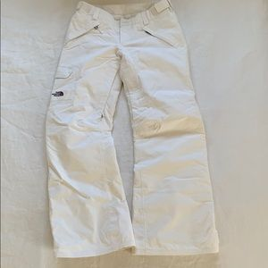 The North Face White Snow Pants